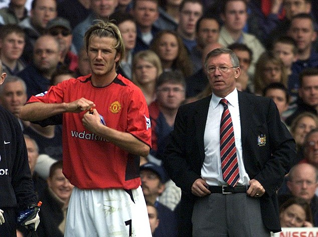 David Beckham dan Sir Alex Ferguson