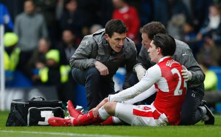 Bellerin Injury