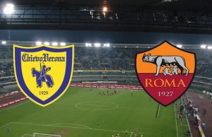 Liga Italia: Chievo Vs AS Roma (10/12/2017)