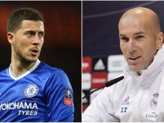 Zidane Sangat Menghargai Eden Hazard Di Tengah Rumor