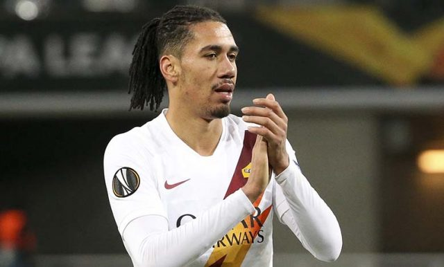AS Roma Yakin Dapat Pertahankan Chris Smalling